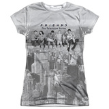 Juniors: Friends- Friends Lunch Break T-Shirt