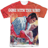 Gone With The Wind- Poster Art T-shirts