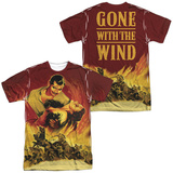 Gone With The Wind- Fire And Love (Front/Back) T-Shirt