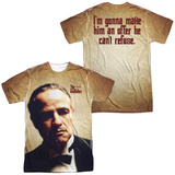 Godfather- Vito Corleone (Front/Back) T-shirts