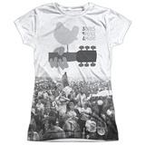 Juniors: Woodstock- Crowded Field T-Shirt