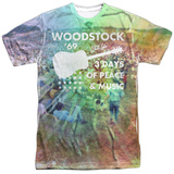 Woodstock- Crowd Mosiac T-Shirt