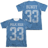 Married With Children- Polk High 33 (Front/Back) T-shirts
