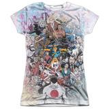 Juniors: Valiant Comics- Heroes & Villians Collage T-shirts
