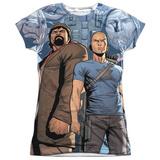 Juniors: Archer & Armstrong- Heroes & Villains T-Shirt