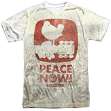 Woodstock- Peace Now Distressed Stamp T-shirts
