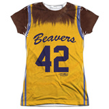 Juniors: Teen Wolf- Beavers Jersey 42 Womens Sublimated
