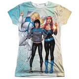 Juniors: Valiant: Harbinger- Zephyr, Flamingo & Kris T-Shirt
