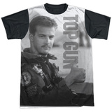 Top Gun- Thumbs Up Goose Black Back T-Shirt