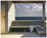 Sea Bench Art by Daniel Pollera