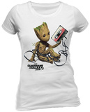 Guardians of the Galaxy Vol. 2 - Groot & Tape Tshirts