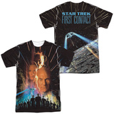 Star Trek: The Next Generation- First Contact Poster (Front/Back) Shirts