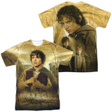 Lord Of The Rings- Frodo The Ring Bearer (Front/Back) T-Shirt