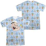 Popeye- Sailor Emojis (Front/Back) Shirts