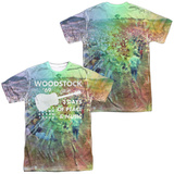 Woodstock- Crowd Mosiac (Front/Back) T-Shirt
