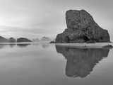 Before Sunrise at Meyer Creek Beach Oregon Photographic Print by Dennis Frates