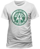 Arrow - Distressed Logo White Tshirt
