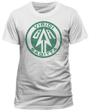 Arrow - Distressed Logo White Shirt