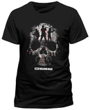 The Walking Dead - Trio Skull Silhouette Vêtement
