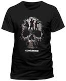The Walking Dead - Trio Skull Silhouette T-Shirt