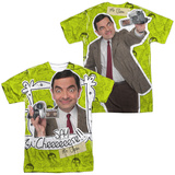 Mr Bean- Say Cheese (Front/Back) T-shirts