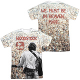 Woodstock- Sea Of Fans (Front/Back) T-Shirt
