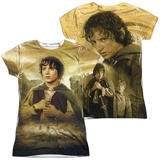Juniors: Lord Of The Rings- Frodo The Ring Bearer (Front/Back) T-shirts