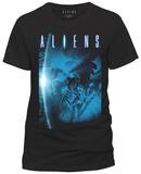 Alien - Blue Tshirts