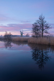 A Scene from the Norfolk Broads at Turf Fen Photographic Print by Jon Gibbs