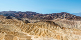 Panoramic View, Badlands, Death Valley National Park Photographic Print by Klaus-Peter Wolf