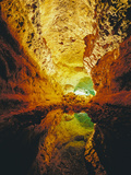 Cueva De Los Verdes, Lanzarote, Canary Islands, Spain, Europe Photographic Print by Marco Simoni