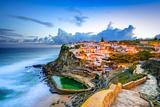 Azenhas Do Mar, Portugal Coastal Town Photographic Print by Sean Pavone