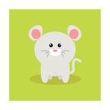 Cute Cartoon Mouse Posters by Nestor David Ramos Diaz