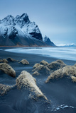Sand Dunes on the Stokksness Peninsula, Eastern Iceland Photographic Print by David Noton