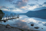 Brandlehow Bay, Borrowdale, Lake Derwent Water at Daybreak Photographic Print by John Potter