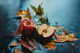 Autumn Rain and Apples Photographic Print by Dina Belenko