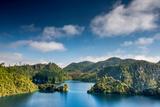Laguna La Canada at Lagunas De Montebello National Park, Chiapas, Mexico Fotodruck von Witold Skrypczak