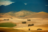 Rolling Farmland in the Overberg Region Near Villiersdorp, Western Cap, South Africa Photographic Print by David Noton