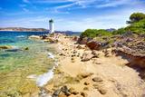 Sardinia Island - Lighthouse, Palau Beach, Italy Photographic Print by Jan Wlodarczyk