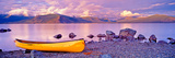 Yellow Canoe Photographic Print by Rolf Hicker