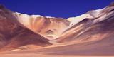 Colorful Mountains, San Antonio Mountains, Altiplano, Bolivia Photographic Print by Klaus-Peter Wolf