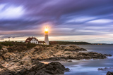 Portland Head Light in Cape Elizabeth, Maine, USA Photographic Print by Sean Pavone