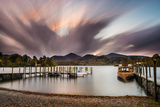 Derwent Shoreline and the Landing Stages Near Keswick Photographic Print by Matthew Cattell