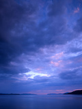 Tralee Bay and Mull at Dusk, Benderloch, Argyll, Scotland, UK Photographic Print by Richard Childs