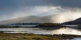 Salen, a Small Town, the Isle of Mull, Atmospheric Morning Sunlight Photographic Print by Stuart Cox