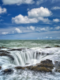Thor's Well. Oregon Photographic Print by Dennis Frates