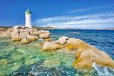 Lighthouse, Palau, Costa Smeralda, Sardinia Island, Italy Photographic Print by Jan Wlodarczyk