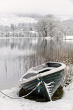 Loch Ard, Aberfoyle, the Trossachs in Mid-Winter Photographic Print by John Potter