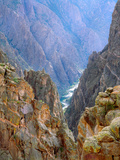 The Gunnison River in the Black Canyon. Black Canyon of the Gunnison National Park, Colorado Photographic Print