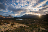 The Black Cuillin at Sligachan, Isle of Skye Scotland UK Photographic Print by Tracey Whitefoot